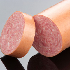 Pecta Smoke synthetic casing for smoked semi-dry sausages - Podanfol