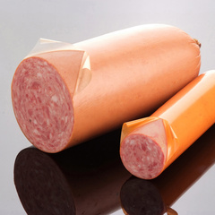 Casings for semi-dry and raw sausages
